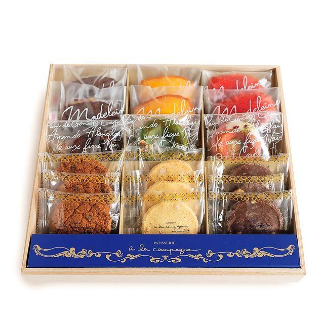 神戸スイーツ a la campagne (アラカンパーニュ) 焼き菓子詰合せ ガトー・アソルティ・グラン