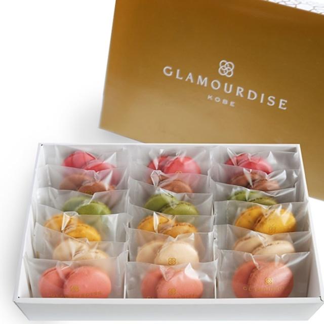 神戸スイーツ GLAMOURDISE(グラモウディーズ) マカロンクッキー18個セット