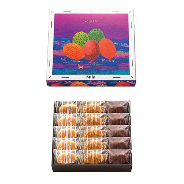 神戸スイーツ ファクトリーシン ふわふわスフレ FS-15 焼き 菓子 詰合せ 15個入