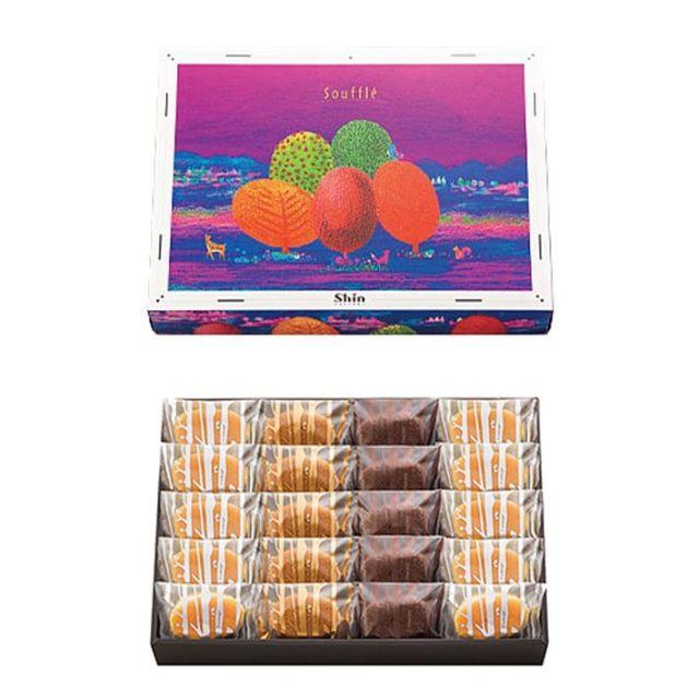 神戸スイーツ ファクトリーシン ふわふわスフレ FS-20 焼き 菓子 詰合せ 20個入り