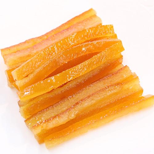 オレンジの皮のシロップ漬(ラメル/スティック)150g