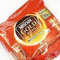 ネスカフェ ゴールドブレンドカフェインレスコーヒースティック 50本入