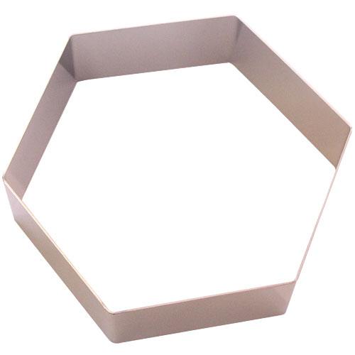 ステン アルゴン六角セルクル 15cm H4cm