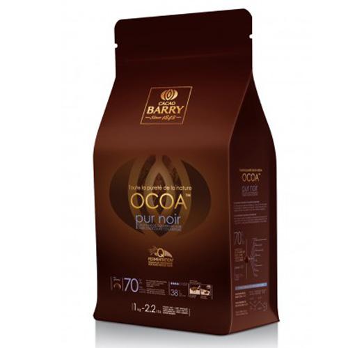 カカオバリー クーベルチュールピストール オコア 70% 1kg