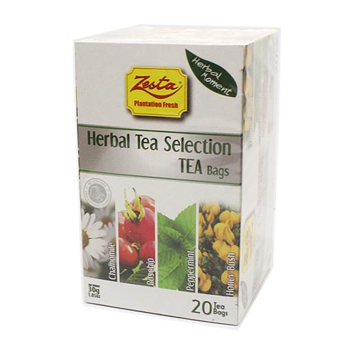 ゼスタ 20TB ハーブセレクション 30g(1.5g×20P) ハーブティー 紅茶