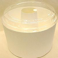 チューブ型シフォンカップ(白)フタ付 50枚入