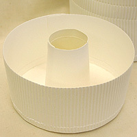チューブ型スモールシフォン(白)本体のみ 100枚入