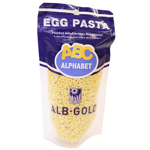 EGG PASTA アルファベットパスタ 90g