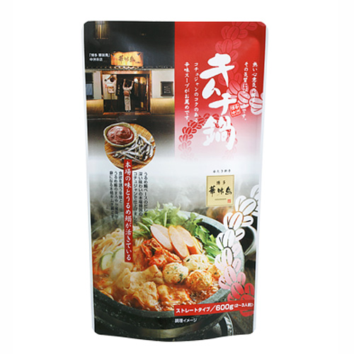 博多華味鳥 キムチ鍋スープ 600g