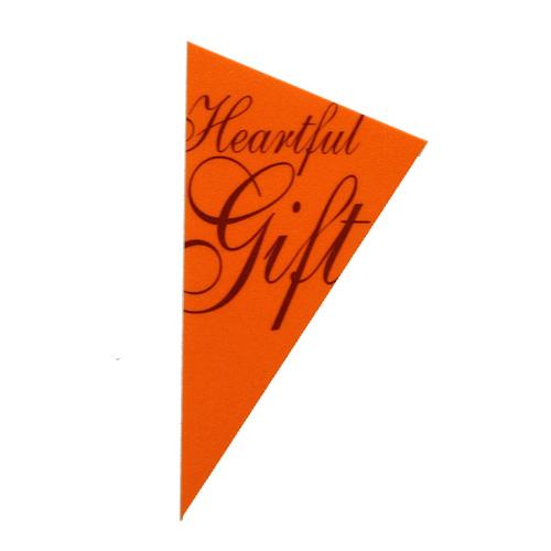 ケーキピック  ハートフルギフト 1枚 【メール便可】
