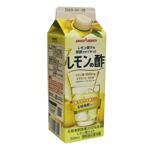 ポッカサッポロ レモンの酢 500ml