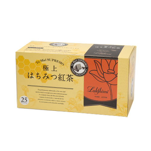 【Lakshimi】Te' Miel SUPREMO 極上はちみつ紅茶 2g×25パック入り(50g)
