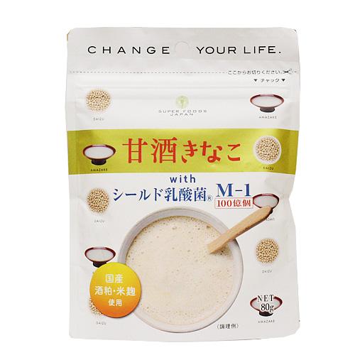 甘酒きなこ with シールド乳酸菌 80g