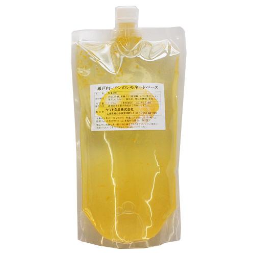 瀬戸内レモンのレモネードベース 1.2kg
