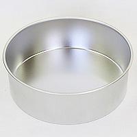 ブリキ デコ缶 共底 直径150mm