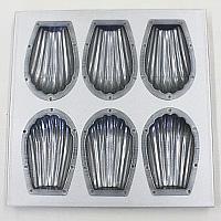 シリコン加工貝型鉄板6ケ付