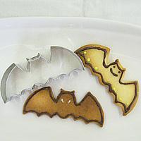 クッキー抜き型コウモリ