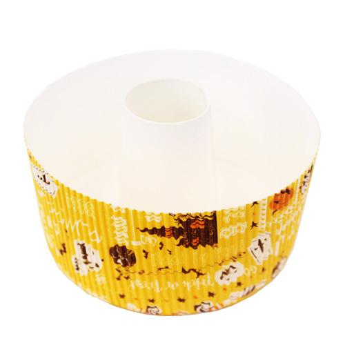 スモールシフォンカップ ハロウィンレター 1枚 / ベーキングカップ カップケーキ マフィン シフォンケーキ