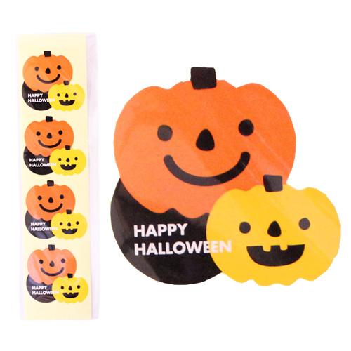 Big Halloween シール 1シート / ラッピング シール 包装材料 ハロウィン