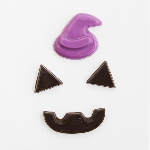 ハロウィン ゴーストパーツチョコセット 6セット入