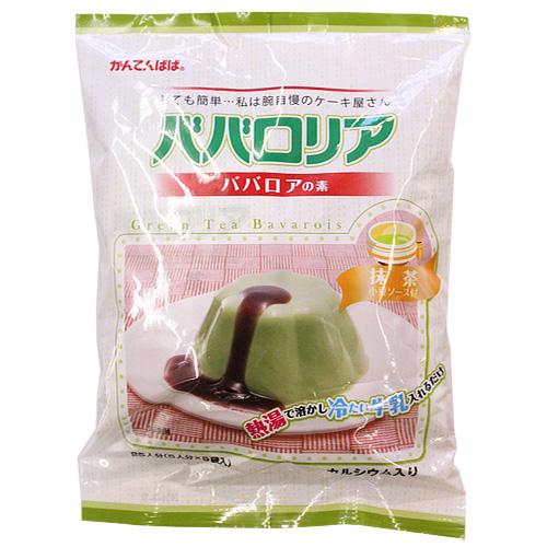 かんてんぱぱ ババロリア(抹茶)