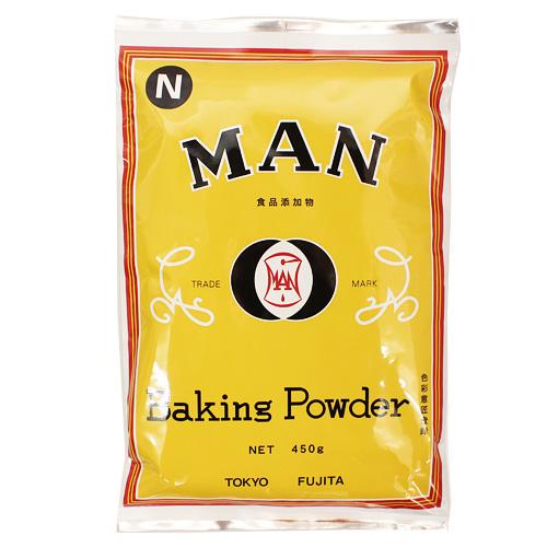 MANベーキングパウダー 450g / 食品添加物 膨張剤