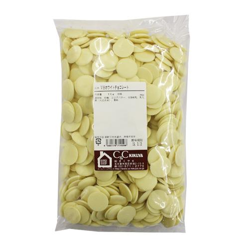 【大特価】バンホーテン ホワイトチョコレート 1kg