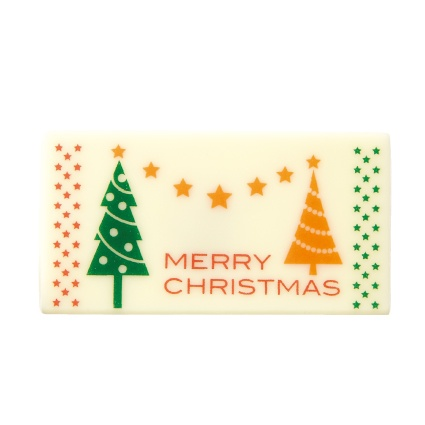 W-365 モダンクリスマス  1個入り   / クリスマス チョコプレート オーナメント