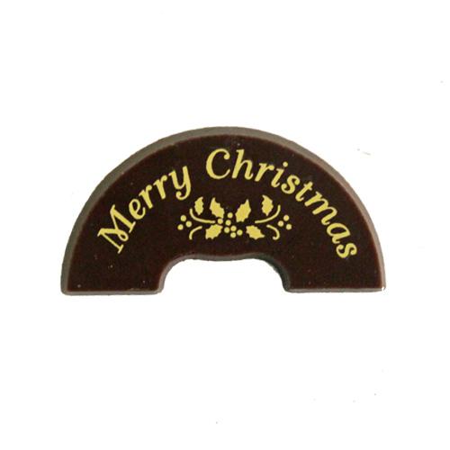X-23 ベルプレートミニ(ゴールド) 6個入   / クリスマス チョコプレート オーナメント
