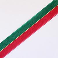 ペアリボン 赤×緑 12mm×50m