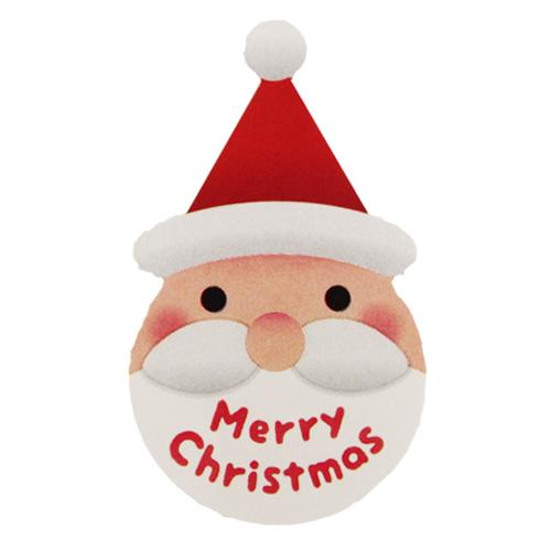 クリスマスシール メリーサンタ 5枚  【メール便可】 / ラッピング
