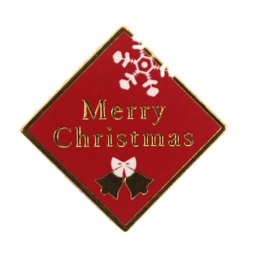 クリスマスケーキピック YX-38 バーガンディー 1枚 【メール便可】