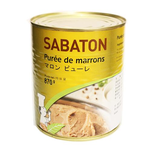 サバトン マロンピューレ 870g