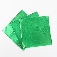チョコレート包み紙(緑)約50枚入【メール便可】 バレンタイン