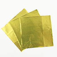 チョコレート包み紙(ゴールド) 約50枚入 【メール便可】 バレンタイン