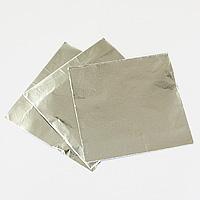 チョコレート包み紙(シルバー)約50枚入 【メール便可】 バレンタイン