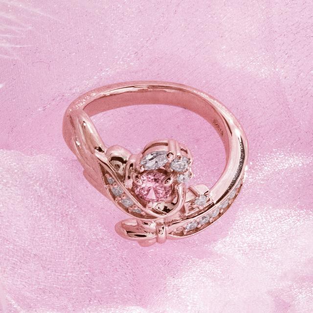 【DUB Collection│ダブコレクション】桜井莉菜 model Wing Key Ring ウィングキーリング DUB-C058-2(PK)【さくりなコラボ】