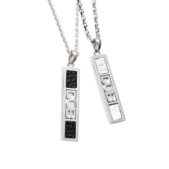 受注生産(オーダー)【DUB Collection|ダブコレクション】DUB leatherwork Pair Necklace ダブレザーワークペアネックレス DUBj-212-Pair【ペア】