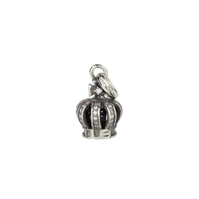 即日発送アイテム【DUB collection|ダブコレクション】Tiny Crown Necklace タイニークラウンネックレス DUBj-264-2【ユニセックス】
