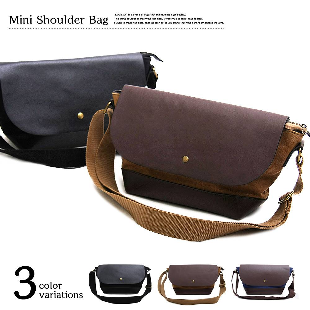 Mini Shoulder Bag ミニショルダーバッグ 【ユニセックス】