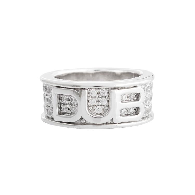 【DUB collection ダブコレクション】Petit shine base logo Ring  プチシャインベースロゴリング DUBj-240-2【ユニセックス】