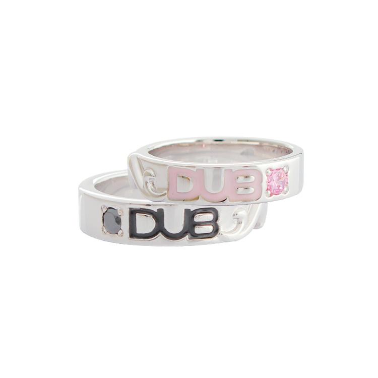 【DUB collection|ダブコレクション】Hidden Heart ring ヒドゥンハートリング DUBj-187-Pair【ペア】
