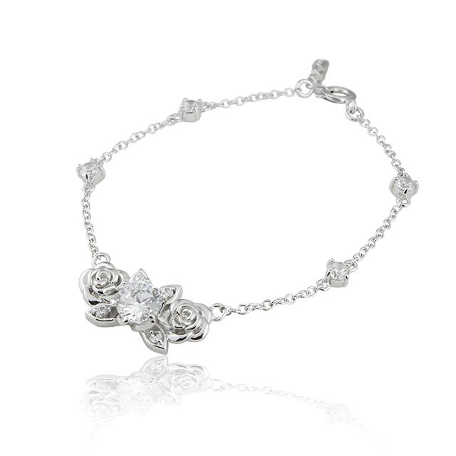 受注生産(オーダー)【DUB Collection│ダブコレクション】桜井莉菜 model Rose Bracelet ローズブレスレット DUB-C039-1【さくりなコラボ】
