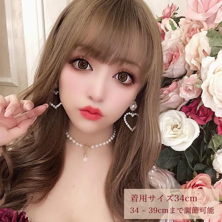 【DUB Collection│ダブコレクション】桜井莉菜 model Crown Pearl Choker クラウンパールチョーカー【DUB-C082-1】