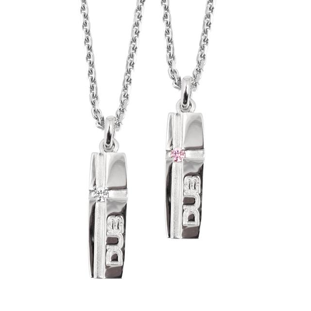 【DUB collection|ダブコレクション】mat line cross pendant マット ライン クロス ペンダント DUBj-159-pair【ユニセックス】