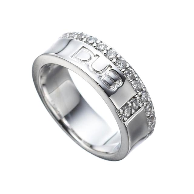 【DUB collection|ダブコレクション】 Hidden Cross ring DUBj-186-1(WH)【メンズ】