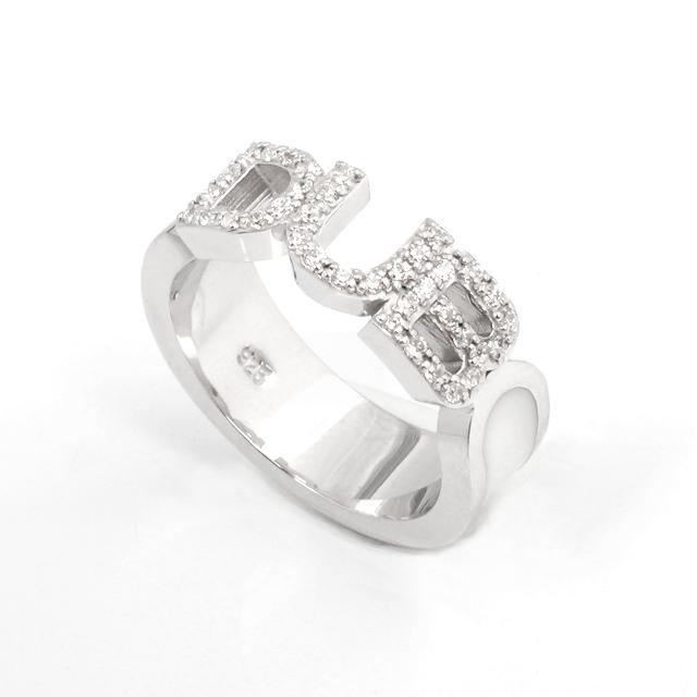即日発送アイテム【DUB Collection|ダブ コレクション】Honest Ring オネスト リング DUBj-223-2(WH)【レディース】