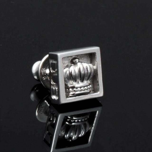 【DUB collection】Crown frame Pierced クラウン フレーム ピアス DUBj-251-1【ユニセックス】