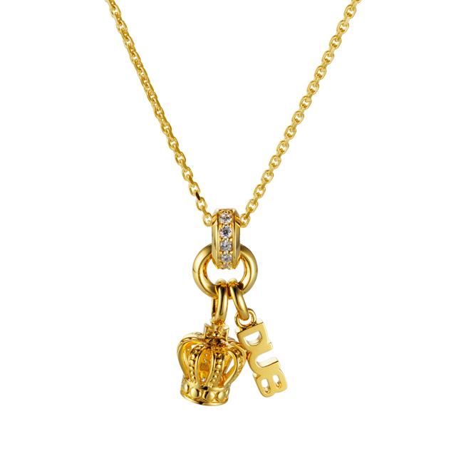 受注生産(オーダー)【DUB collection|ダブコレクション】Sway Crown Necklace スウェイクラウンネックレス DUBj-287-2【ユニセックス】
