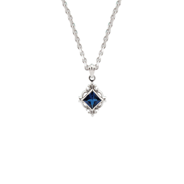 【DUB Collection│ダブコレクション】Ivy enclose Necklace アイビーエンクローズネックレス DUBj-294-3